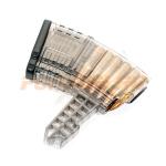 Магазин Pufgun на СКС, 7,62х39, 10 патронов, полимер, прозрачный, возможность укорочения