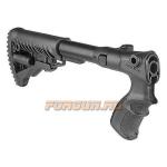 Приклад для Remington 870, телескопический, рукоятка, складной, пластик, FAB Defense, FD-AGRF 870 FK