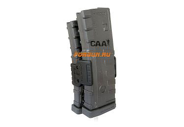 _Магазинная стяжка для магазинов 5.56X45 (223) для M16/M4/AR-15 CAA tactical MCD16N, полимер, черный