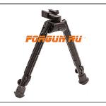 Сошки для оружия Leapers UTG, Weaver/Picatinny или антабка, высота 20,6-30,4 см, TL-BP03