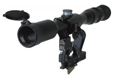 Оптический прицел Беломо ПОСП 8х42 В, с подсветкой сетки, с ЛЦУ-ОМ (для Сайга/Вепрь)