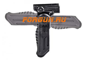 Рукоятка передняя на Weaver/Picatinny, регулируемая, складная, пластик, CAA tactical FVG-3B