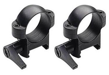 Кольца Burris Zee quick (26 мм) на Weaver, низкие, быстросьемные, раздельные, 420031