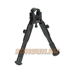 Сошки для оружия Leapers UTG, на ствол 11-19 мм, высота 16-17 см, TL-BP18S-A