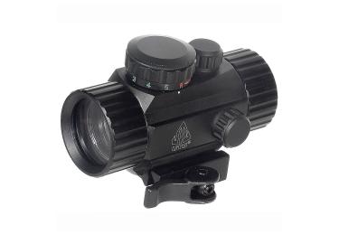 Коллиматорный прицел Leapers UTG 1x30 на Weaver/Picatinny, быстросъемный, компактный, SCP-RG40SDQ