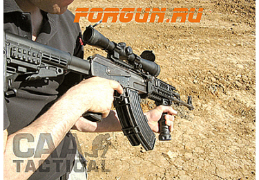 Рукоятка передняя на Weaver/Picatinny, быстросьемная, пластик, CAA tactical CGRIP