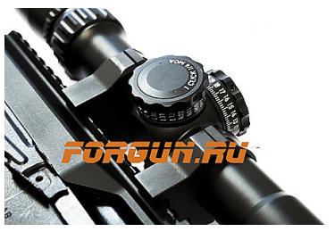 Кольца 25,4 мм на Weaver быстросъемные, высота 16 мм, сталь Luman Precision средние LP25.4MED (черный)