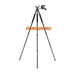 Опора стойка для оружия, 3 ноги, высота 71-173 см, 3 секции, Ultrec Spot-n-Shoot Tripod, PH-SNS-SB (с кронштейном для дальномера)
