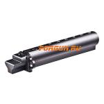 Трубка телескопического приклада для АК47, AK-74 нескладная (вместо нескладных) CAA tactical AKTS, алюминий (черный)