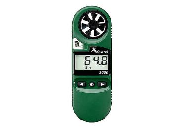 Ветромер Kestrel 2000 + термометр (время, скорость ветра, температуру воды, снега, воздуха) 0820