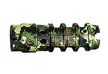 Дульный тормоз компенсатор (ДТК) 7,62/5,45/.223 для Сайга, Вепрь 136, 133 и автоматы АК-47 всех модификаций с резьбой М14х1Л Red Heat Цитадель 47 (камуфляж)
