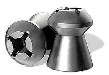 Пульки к пневматике 6.35 мм H&N Baracuda Hunter Extreme (калибр .25), (вес – 1.84г) банка 200 шт
