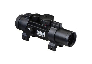 Коллиматорный прицел Bushnell Trophy 1x28 Red Dot Sight w/Rings с подсветкой сетки (4 Dial-In) 730131