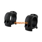Кольца Spuhr Hunting D30мм H19mm на Picatinny, без интерфейсов, небыстросьемные, HP30-19A