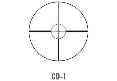 Оптический прицел Swarovski Z6i 1-6x24 L с подсветкой (CD-i)