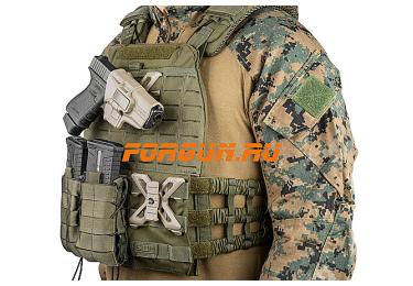 _Крепление для кобур, ножен и подсумков с планкой Picatinny FAB Defense RPR MOLLE