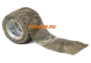 Камуфляжная лента многоразовая McNett 2,4 м Stretch BreakUp Infinity (темный лес)