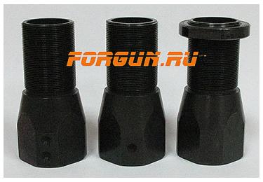 Дульная насадка (0,5) получок 60 мм с резьбой под ДТК для ВПО-205 Вепрь, Сайга 12 кал РЫСЬ ДУДКА-12-0.5