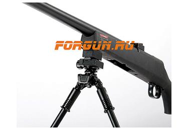Сошки для оружия Vanguard EQUALIZER 1QS (на Weaver или антабку) (длина от 18 до 26 см)