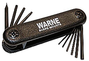 Набор Warne ST1 для работы с оружейной оптикой