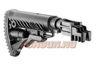 Приклад для АКМ нескладной (вместо нескладных), телескопический, пластик, компенсатор отдачи, FAB Defense, FD-SBT-K47 FK