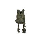 Полная тактическая разгрузка, 10 предметов, темно-зеленый цвет, Leapers UTG, PVC-V747KTG