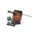 Набор для чистки оружия .17-.50 кал., универсальный, 63 предмета, подставка для чистки, дерев. кофре, DAC TBX96W