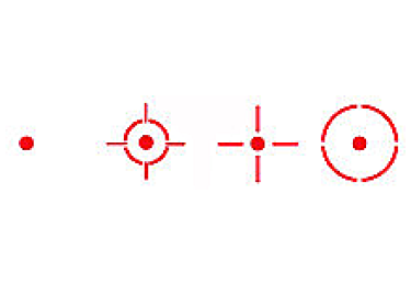 Коллиматорный прицел Sightmark Sure Shot Reflex Sight SM13003B для оснований Weaver (черный)