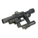 Оптический прицел Беломо ПОСП 4х24В с подсветкой сетки, с ЛЦУ-ОМ (для Вепрь/Сайга)