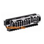 Кронштейн цевье с 3 планками типа Picatinny для MP5 CAA tactical HX3, алюминий, черный
