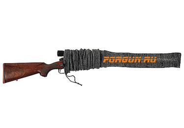 Чехол-чулок Allen для ружья до 127 см, серый, 13105