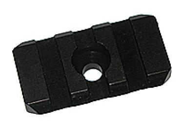 Основание Weaver L 38мм для хомута крепления подствольного магазина МЕ 600020 алюминий (черный)