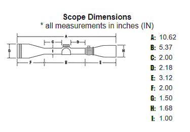 Оптический прицел Sightron SIH 1,75-4X32, 25,4мм, без подсветки, Duplex