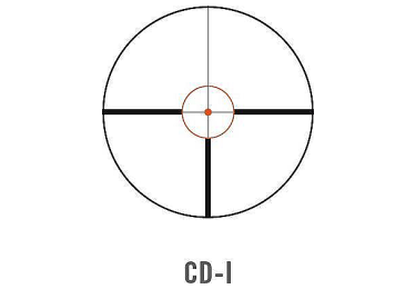 Оптический прицел Swarovski Z6i 1-6x24 SR с подсветкой (CD-i)