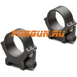 Кольца 30 мм на Weaver высота 10 мм Leupold QRW2, 174076, сталь (черный матовый)