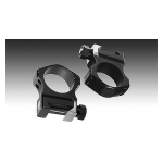 Кольца Nightforce Ultralight (30mm) на Picatinny низкие (22.5mm) небыстросьемные, четыре винта A118