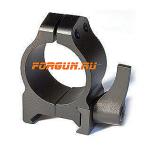 Кольца 25,4 мм на Weaver высота 6 мм Warne Maxima Quick Detach Low, 200LM, сталь (черный)