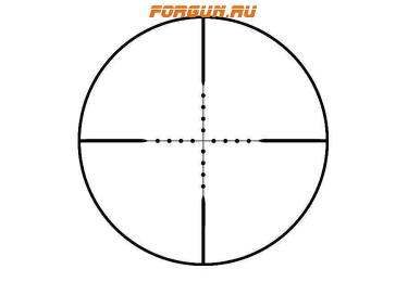 Оптический прицел Bushnell Elite Tactical 6-24x50mm FFP матовый, с подсветкой (Mil Dot) ET6245F