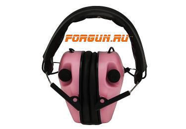 Наушники активные складные 23 дБ Caldwell E-Max Low, розовый, 487111