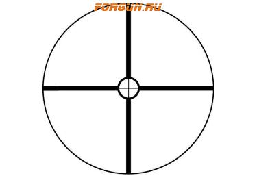 Оптический прицел Bushnell Banner 1-4x32mm матовый (Circle-X) 711432