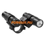 Лазерный целеуказатель + фонарь NcSTAR ASFLG1 (крепление на оптику 25,4)