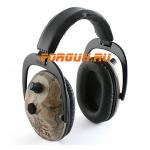 Наушники активные складные 26 дБ Pro Ears Predator Gold, камуфляжный
