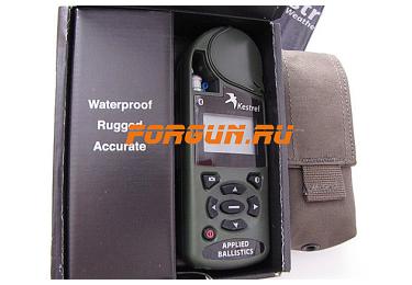 Ветромер Kestrel 4500 BT AB NV Olive (время, скорость ветра, температура воздуха, воды, снега, влажность, точка росы, индекс жары) 0845ABOLV