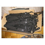 Ремень оружейный Змейка-АК РЫСЬ (черный)