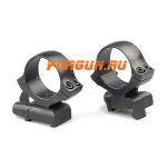 Кольца 30 мм для CZ 550 высота 15 мм, быстросъемные, Kozap Alfa, 61, сталь (черный)