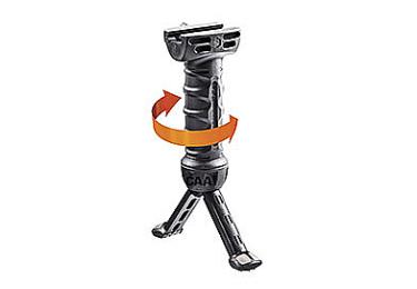 Рукоятка передняя на Weaver/Picatinny, сошки, регулируемая, складная, быстросъемная, пластик/алюминий, CAA tactical BPP GRIP