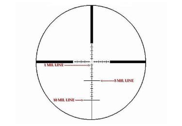 Оптический прицел IOR Valdada 6-24x50 35mm Hunting с подсветкой (MP-8 DOT)
