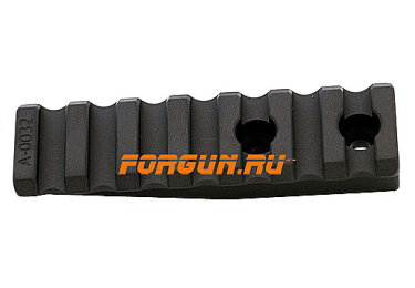 Планка Picatinny дополнительная 14х75 мм для кронштейнов Spuhr, A-0032