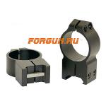 Кольца 30 мм на Weaver высота 16 мм Warne Maxima Fixed Extra High, 216M, сталь (черный)
