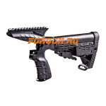Рукоятка пистолетная CAA tactical на Mossberg 500 с планкой Picatinny, пластик/алюминий, CMGPT500